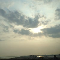 Photo taken at Cầu Mỹ Thuận by Amy C. on 3/11/2014