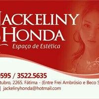 Photo taken at Jackeliny Honda Espaço de Estetica by Karol B. on 11/16/2013