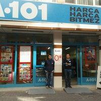 Photo taken at ömerağa A-101 by Bünyamin D. on 10/30/2013