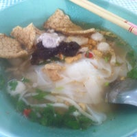 Photo taken at Seeweed And Pork Noodle Soup by Supreeya M. on 8/20/2014