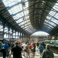 Photo taken at Brighton Railway Station (BTN) by Gemma T. on 7/10/2013