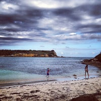 Photo taken at Playa Sucia by Candela D. on 4/28/2013