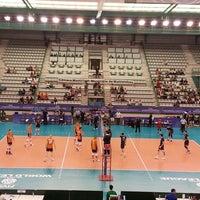 Photo taken at Matosinhos Sport - Pavilhão Municipal by Monica R. on 6/22/2014