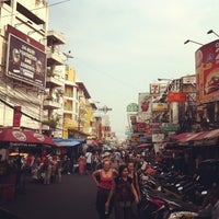 Photo taken at Khao San Road by Stussy g. on 2/13/2013