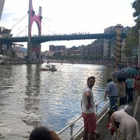 Photo taken at Red Bull Cliff Diving Bilbao by JagobaYJokin G. on 9/20/2014