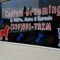 Photo taken at Custom Grooming by Jeanette A. on 9/20/2014