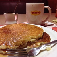 Photo taken at Denny's by Motion on 7/4/2013