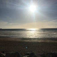 Photo taken at Fistral Beach Bar by Elizabeth B. on 5/20/2017