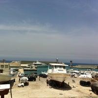 Photo taken at Batroun's Fishermen's Port by Eddy C. on 5/24/2013