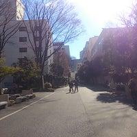 Photo taken at 上智大学 メインストリート by りょうぽち on 1/10/2014