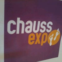 Photo taken at Chauss Expo by Stéphane R. on 7/25/2013