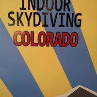 Photo taken at SkyVenture Colorado by Frank F. on 12/28/2012