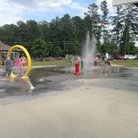 Photo taken at Fort Lee Splash Park by Joey M. on 5/27/2013