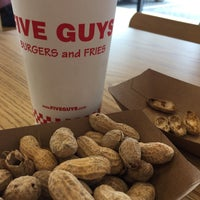 Photo taken at Five Guys by danny d. on 2/24/2017