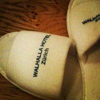 Photo taken at Hotel Walhalla by Vivian T. on 12/31/2012