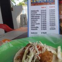 Photo taken at Taqueria Ensenada by Wendy M. on 4/17/2014