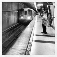 Photo taken at Pershing Square Metro Station by Cynthia L. on 9/21/2012