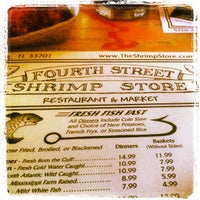 Photo taken at Fourth Street Shrimp Store by Robby W. on 4/26/2013