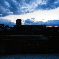 Photo taken at Omladinski stadion   OFK Beograd by Vanja B. on 6/17/2013