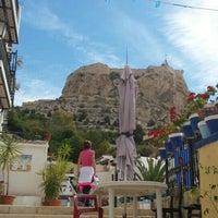 Photo taken at Barrio de Santa Cruz, Alicante by Jose C C. on 5/4/2016