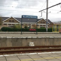 Photo taken at Station Blankenberge by Michael D. on 11/3/2013