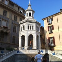 Photo taken at Piazza della Bollente by Gianfranco F. on 7/26/2013