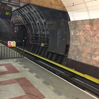Photo taken at Metro =B= Anděl by Roman D. on 2/2/2017