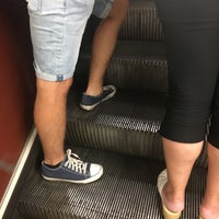 Photo taken at Metro =B= Anděl by Roman D. on 9/15/2016