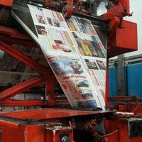Photo taken at Rotativa del Periodico Imagen by Anira A. on 11/4/2014