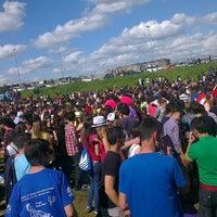 Photo taken at Parque Ribera Sur by Julio D. on 5/11/2013