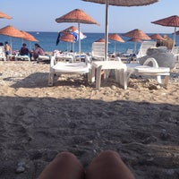 Photo taken at Bedya Beach by Selda S. on 8/23/2013