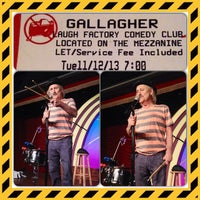 Photo taken at Laugh Factory by Jennifer R. on 11/13/2013