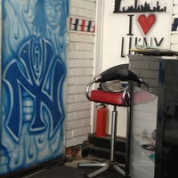 Photo taken at LIL' NY Barber Shop by Daniel S. on 6/1/2013