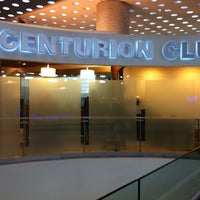 Photo taken at The Centurion Lounge by American Express by Edgar S. on 9/15/2013