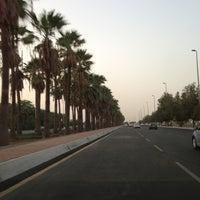 Photo taken at King Abdulaziz Rd by Arki E. on 8/7/2013