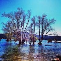 Photo taken at Scotts Flat Lake by Giovanni P. on 4/22/2013
