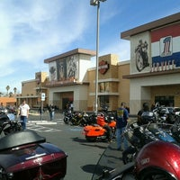 Photo taken at Red Rock Harley Davidson by Sandy R. on 3/2/2013