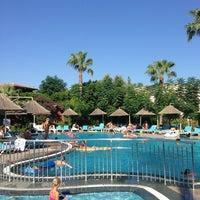 7/29/2013 tarihinde Burak M.ziyaretçi tarafından Hotel Can Garden Beach'de çekilen fotoğraf