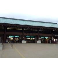 Photo taken at Miyajima Pier by yoshi on 11/23/2012
