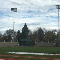 Photo taken at Hayward Field by Mindi L. on 11/13/2016