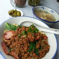 Photo taken at Wai Sek Kai 為食街 by Jeejee W. on 10/5/2012