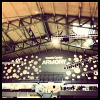 Photo taken at Armory at Seattle Center by Jared R. on 2/22/2013