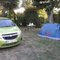 Photo taken at Camping Hautes Coutures by Bastien B. on 9/8/2013