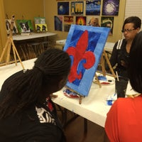 Photo taken at Painting with a Twist by Damien M. on 12/11/2015
