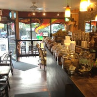 Photo taken at B Cup Cafe by Brian B. on 9/14/2012