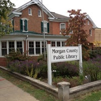 Photo taken at Morgan County Pubic Library by Randy H. on 10/8/2012