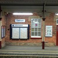 Photo taken at Oakham Railway Station (OKM) by Dave C. on 11/5/2016