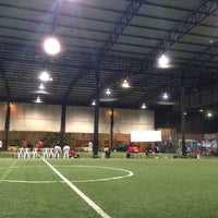 Photo taken at The Hattrick Football Club by Van T. on 5/31/2014