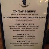 Photo taken at Stateline Brewery & Restaurant by Elana L. on 12/2/2012