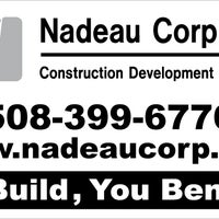 Photo taken at Nadeau Corporation Construction by Sean L. on 5/21/2013